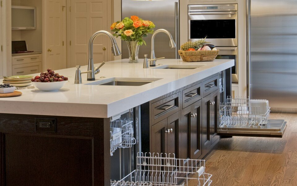 Superior woodcraft featured on houzz kosher kitchen for Kosher kitchen design