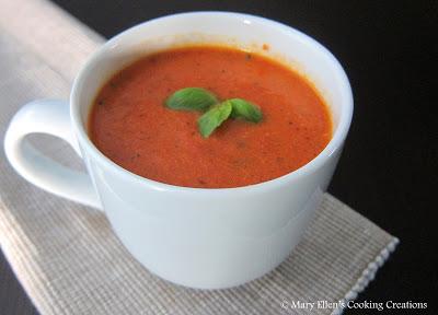 MECC fire roasted tomato soup