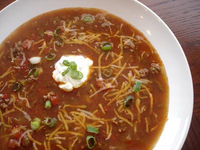 MECC spicy taco soup