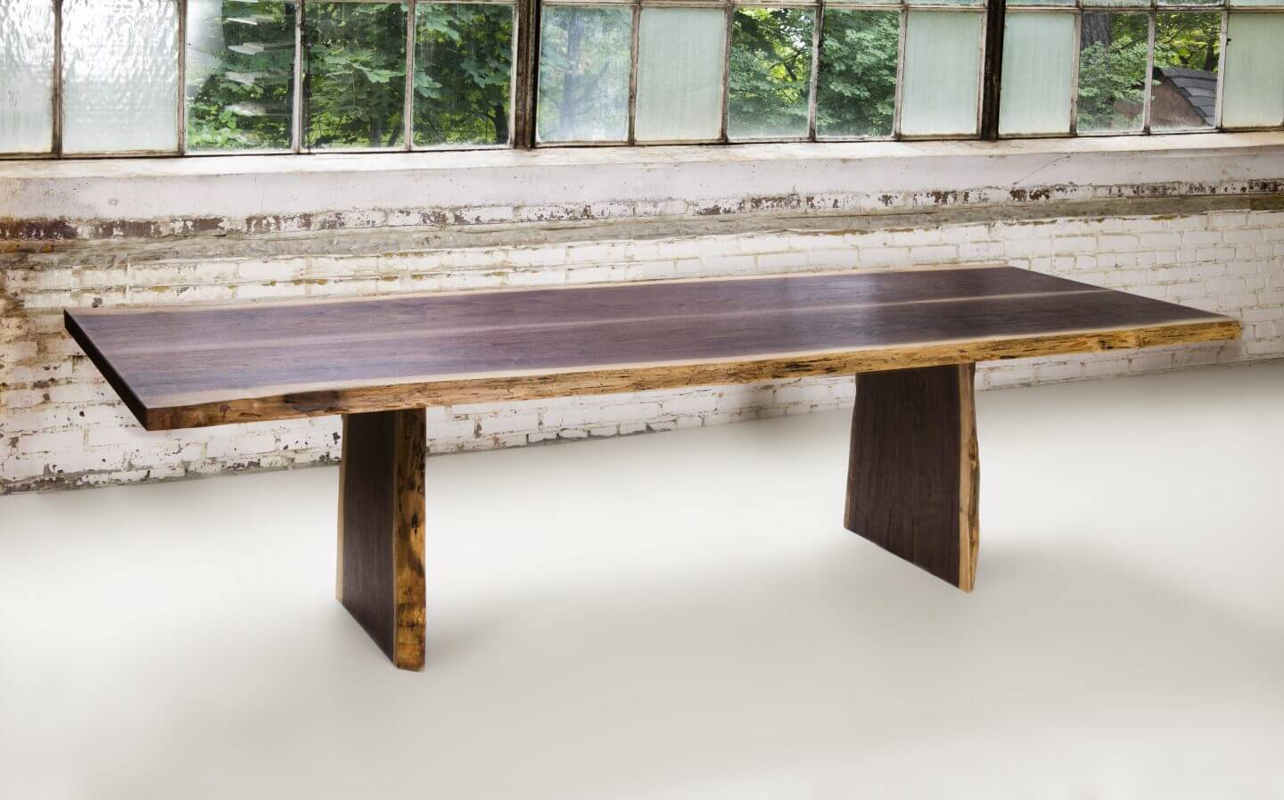 Superior Woodcraft | Live Edge Walnut Dining Room Table - Superior ...