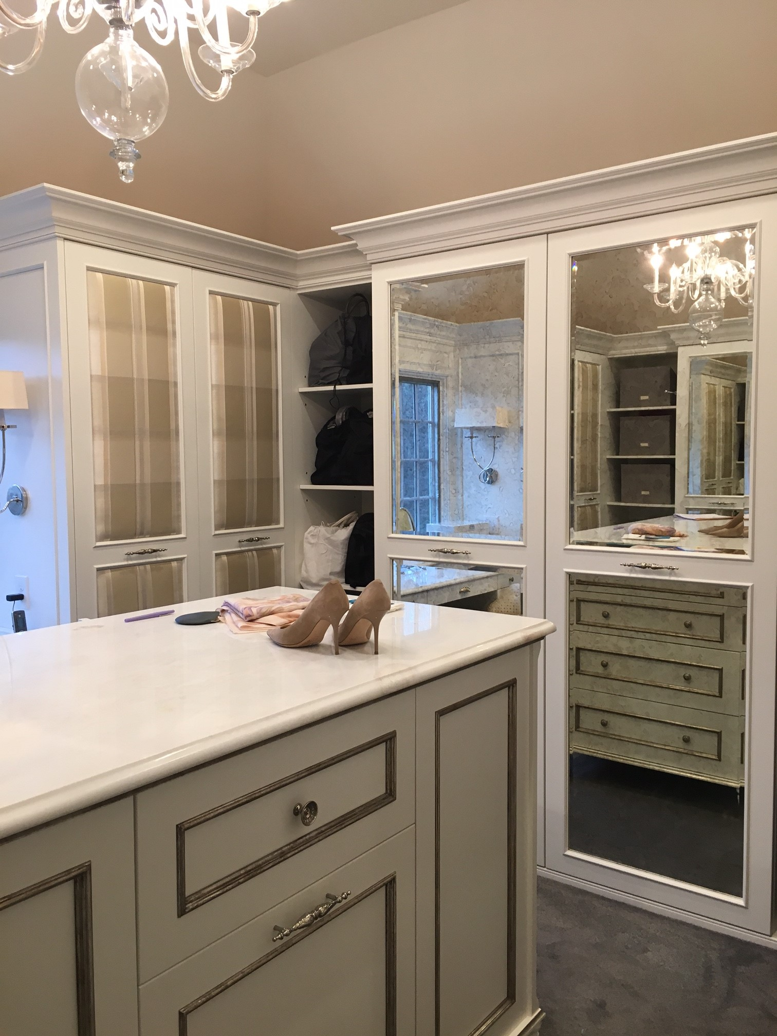 This Custom Made Closet In Cranberry, NJ Is Every Womanu0027s Dream.