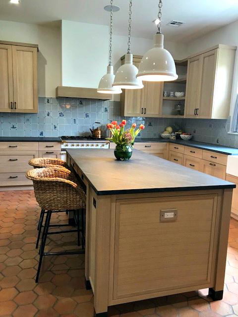 White Oak European cabinetry