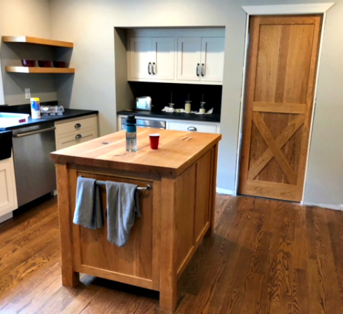 Cherry Kitchen Island