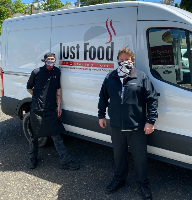 JustFood Stops By Superior Woodcraft